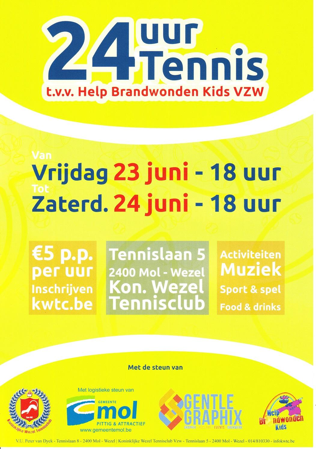 KWTC - 24u Tennis - Help Brandwondenkids low